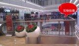 玻璃鋼圓形花盆雕塑戶外創意玻璃鋼花盆花鉢玻璃纖廠家