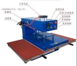 双工位气动烫画机(TZ-Q4040)