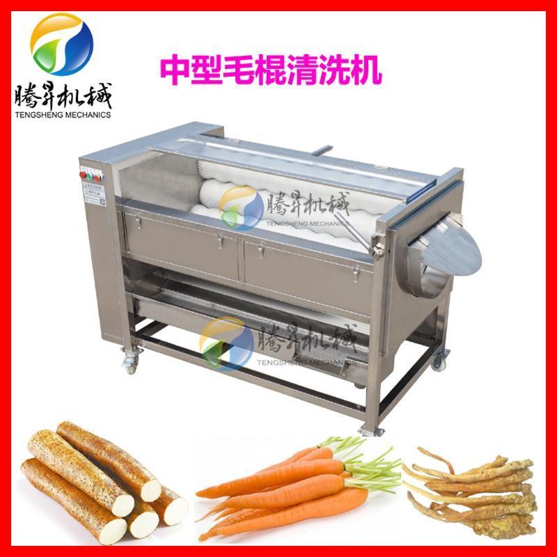毛辊清洗机 水果滚动喷淋清洗机 果蔬加工机械厂家