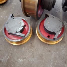 起重机车轮组 天车车轮组 单边双边主动从动车轮组