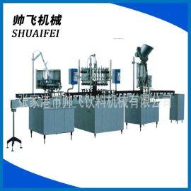 自动灌装生产线 饮料灌装生产线 玻璃瓶冲洗灌装