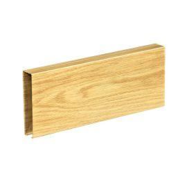 铝方通厂家定制规格表面处理**碳木纹铝方通室内室外