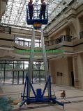 生產各種型號升降平臺,現貨直供6-14米單雙柱鋁合金升降平臺
