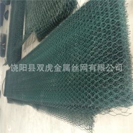 源头PVC包塑石笼网  格宾石笼网箱  铅丝固滨笼