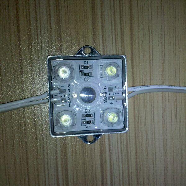 LED5050贴片带透镜铁壳模组