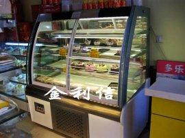 新款欧式前开门蛋糕保鲜冷柜.甜品冷柜
