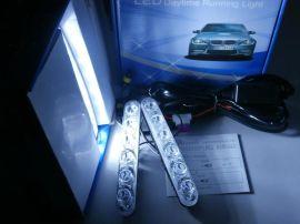 直接接电瓶大功率LED日间行车灯(小鱼叉)