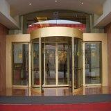 吉林旋轉門—吉林蛟龍大酒店氟碳噴塗旋轉門