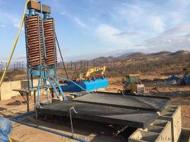 金矿选矿设备 选矿摇床设备视频  摇床设备