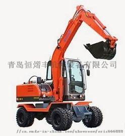 新源XY65W-8小型轮式挖掘机
