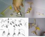 手指足球桌面拼装玩具