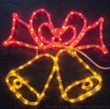 廠家批發亞克力裝飾燈 聖誕LED亞克力造型燈 鈴鐺造型燈 開年促銷