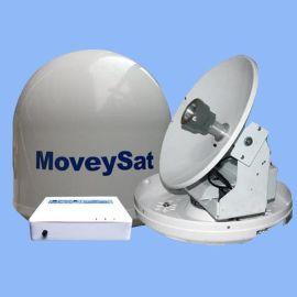 船载卫星天线YM340,船用电视天线,双轴双陀螺跟踪,高清画质