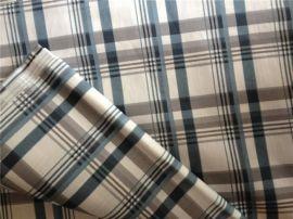 210T印花布 格子印花布 210T涤纶布 手袋里料专用布