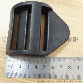 供应塑料箱包扣 塑料箱包四档扣 塑料梯扣 织带调节扣 箱扣