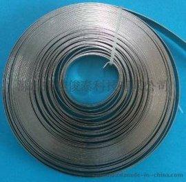 不锈钢卷带 电缆扎带  电缆桥架扎带 电力捆绑扎带