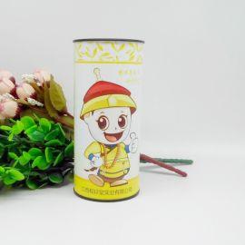 天禾茶叶干果纸罐牛皮纸罐定制 米粉花茶奶粉罐定制食品罐包装