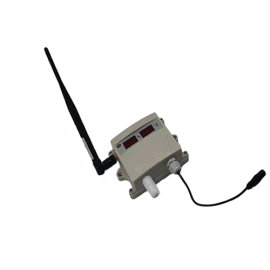 LR5006Z无线电温湿度变送器 数码管显示 记录仪 药