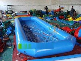 小型充气水池玩水池规格 儿童钓鱼池材料 热卖**pvc沙池决明子批发