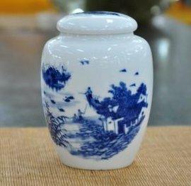 陶瓷茶叶罐-密封性好的茶叶包装罐-景德镇陶瓷罐子厂