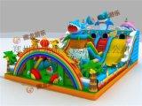 儿童玩具充气跳跳床厂家,海底世界熊出没气垫床跳跳床