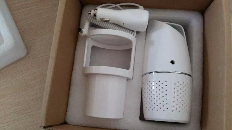 广州车载空气净化器除甲醛除烟尘HEPA滤网