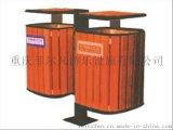 貴州戶外公園圓形木條垃圾桶,重慶菲爾凡廠家批發