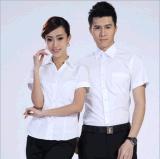 新款定製批發上班族男女搭配定做logo多色可選畢業面試職業裝襯衣