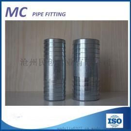 碳钢镀锌皮管接头双头软管接头厂家直销