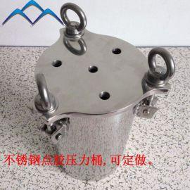 北京1-500L碳钢不锈钢点胶压力桶 非标定做 储料桶 品质保证