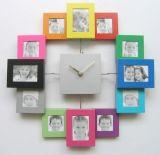 个性塑料相框钟(GK-082)