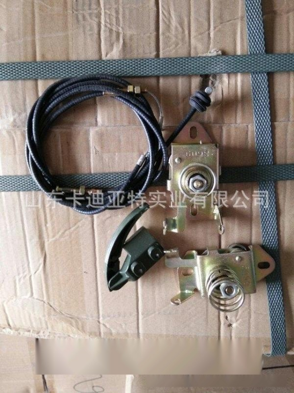 陝汽德龍M3000老式原裝駕駛室面罩鎖總成 德龍老款M3000面罩鎖