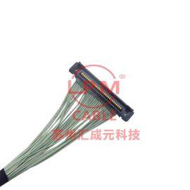 苏州汇成元供I-PEX20373-R30T-06I-PEX20374-R30E-31高清摄像屏线