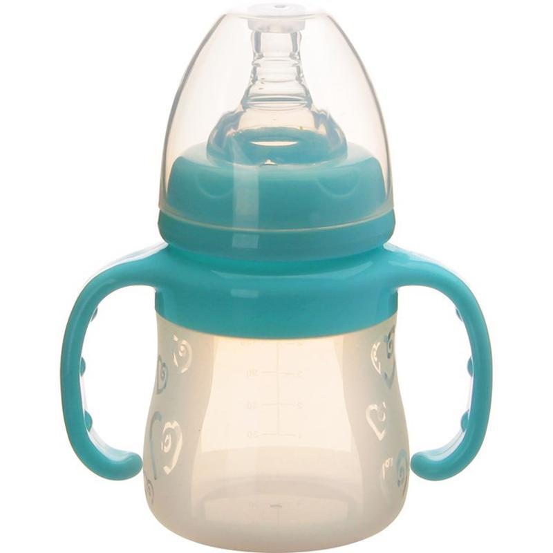 宽口径婴儿硅胶奶瓶 婴乐美包装 可定制