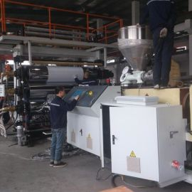 PVC聚氯乙烯厚板材挤出生产线设备