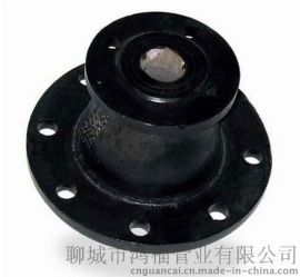 双盘异径管 DN400*200承插渐缩管 球墨铸铁变径大小头管件