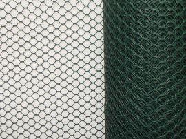 铁丝网-PVC涂塑铁丝网-六角铁丝网-六角网养鸡网