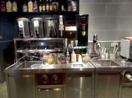 饮品小吃食品机械厂家供奶茶店全套设备 果汁饮料设备 原料教技术