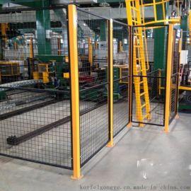 青岛科尔福厂家供应低碳钢丝防护围网车间隔离网质优价廉