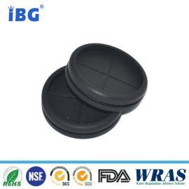 IBG贝克供应橡胶护线圈/36*42*10/硅胶70阻燃V0级/黑色/厂家