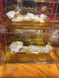 悦达定制绒纱银纯银如意摆件定做银行保险收藏纪念礼品