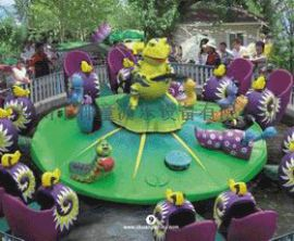 旋转游乐设备  儿童游乐场设施 蜗牛特工队