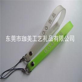 供应塑胶手机吊绳 卡通手机绳  软胶挂绳