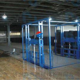 泉州导轨式升降机厂房货梯海普厂家定制