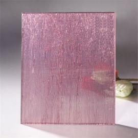 旭鹏玻璃厂供应红色夹丝玻璃,夹丝玻璃,可加工定制