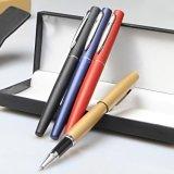 金屬中性筆簽字筆 黑色0.5高檔商務禮品水筆 辦公筆會議印刷logo