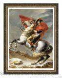 歐式木製油畫框/相框 世界名畫《拿破崙》裝飾畫有框 古典金色