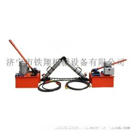 铁翔液压复轨器4轴轨道车、各种自重60吨以内车辆