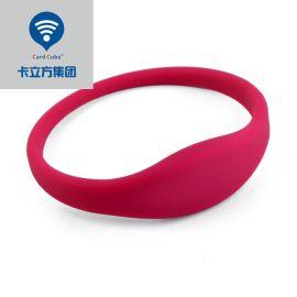卡立方RFID硅胶手腕带|ID电子锁rfid腕带|ID桑拿防水腕带|ID硅胶腕带手环