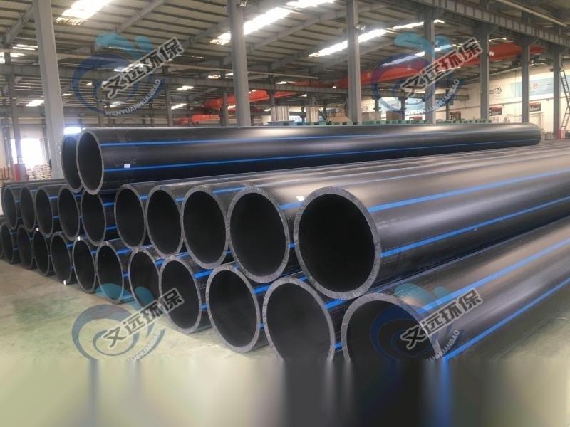 高密度聚乙烯排水管-hdpe排污管-实壁排水管